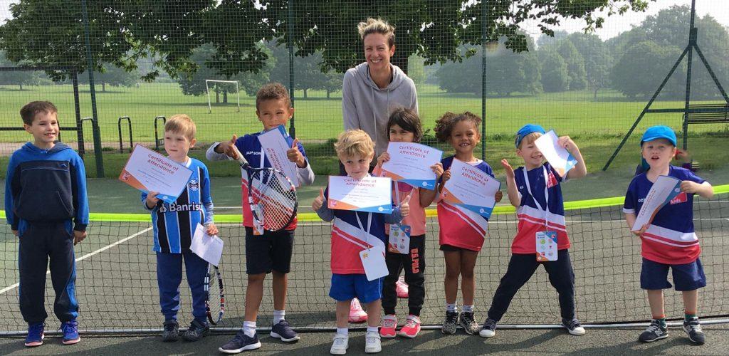 Tennis For Kids Certificates